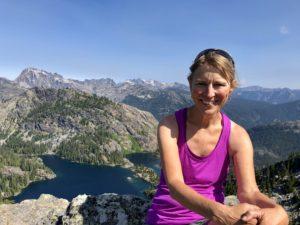 Lori Peterson hiking